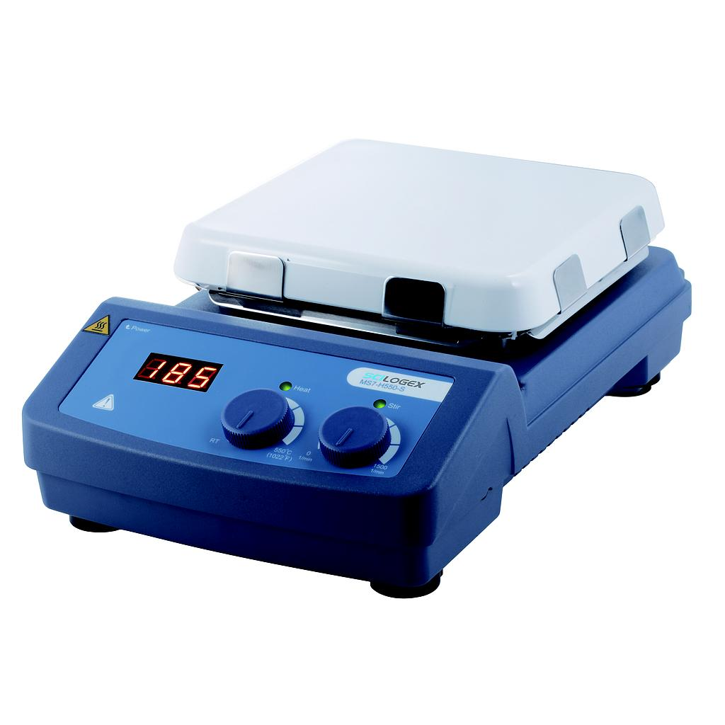 SCILOGEX SCI550-S LED Digital 7x7 Hotplate Stirrer (550ºC Max.)