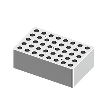 Block, used for 1.5/2.0mL tubes, 40 holes (15 x 9.5 x 5cm)