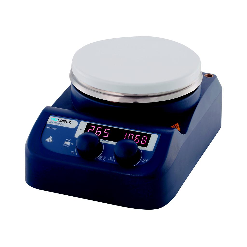 SCILOGEX SCI280-Pro Circular-top LED Digital Hotplate Stirrer (280ºC Max.)