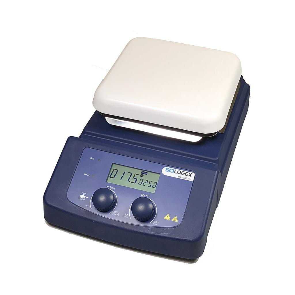 SCILOGEX SCI380HS-Pro 5.5 x 5.5 in. LCD Digital Magnetic Hotplate Stirrer (380ºC Max.)