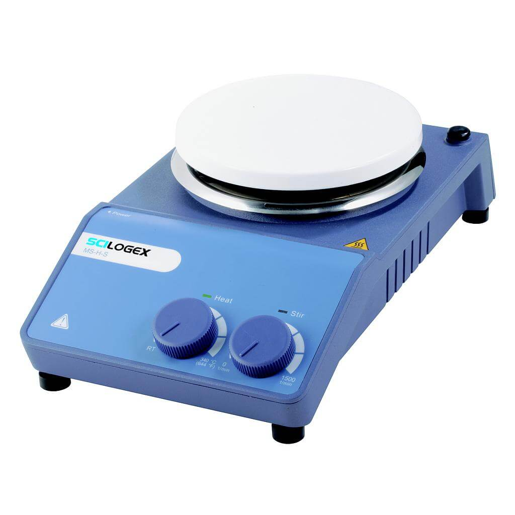 SCILOGEX SCI340-HS Circular-top Analog Hotplate Stirrer (340ºC Max.)